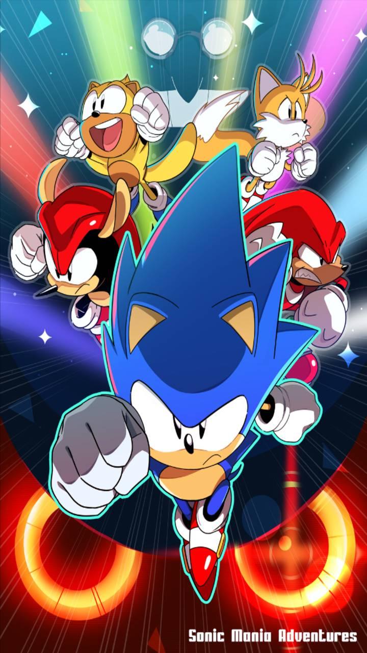 Sonic Mania wp