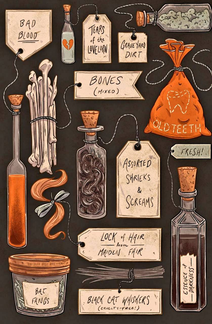 Spooky Ingredients