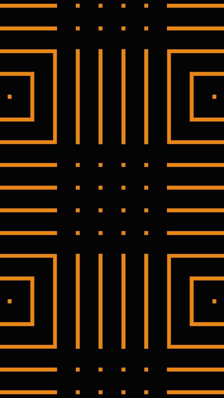 Black Orange Line 01