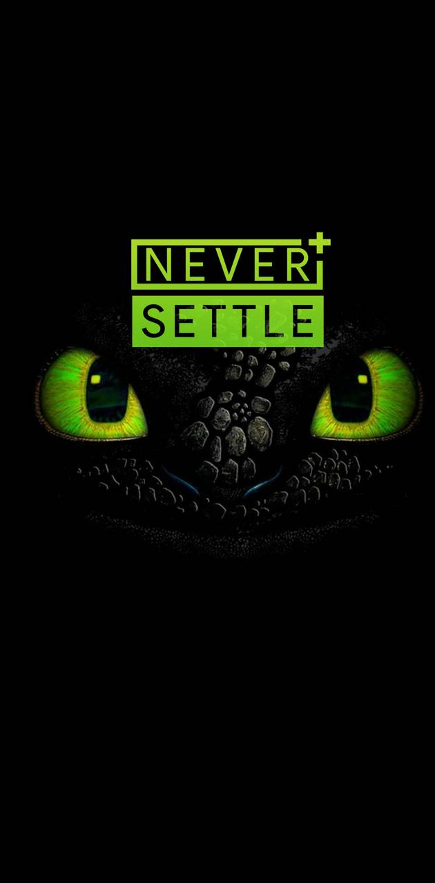 NEVER SETTLE WP 3