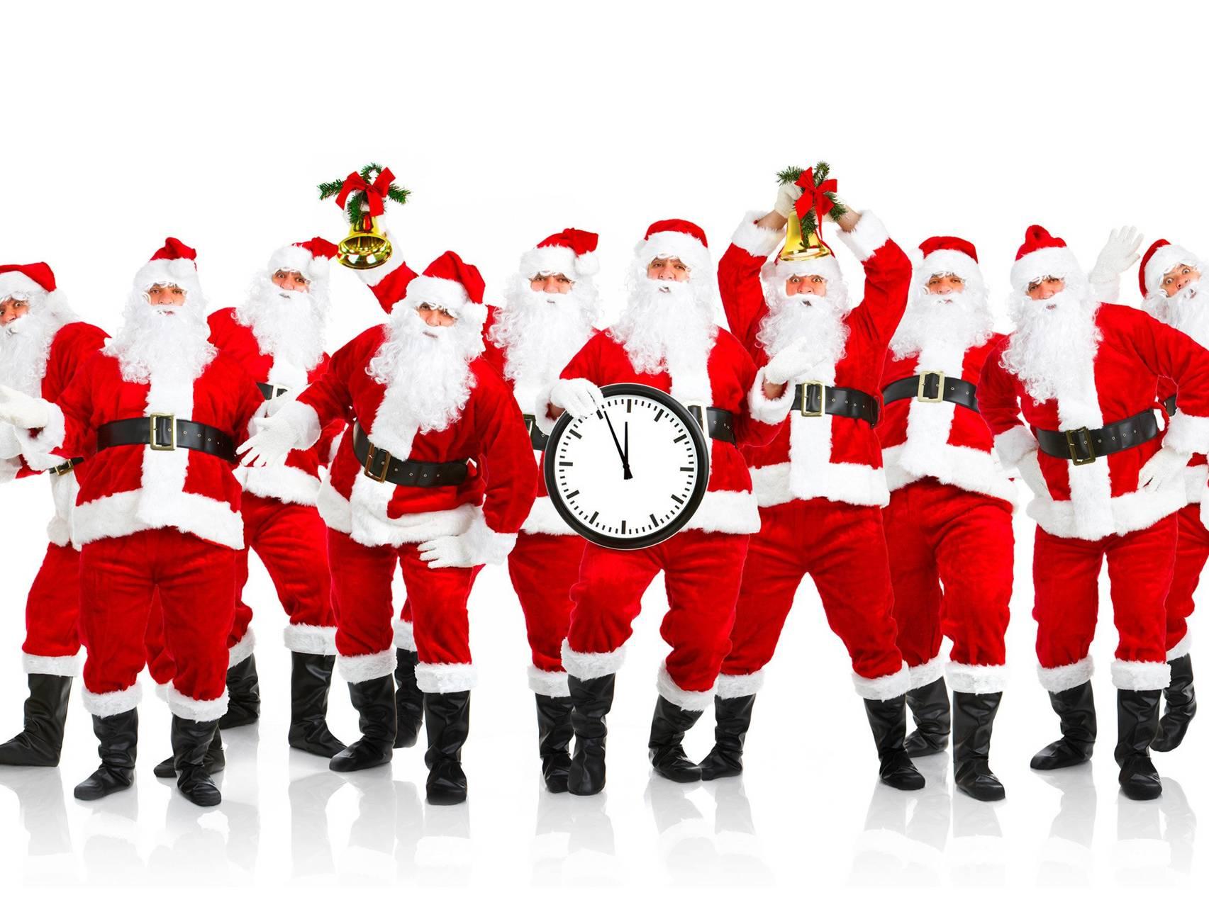 Pack Of Santas