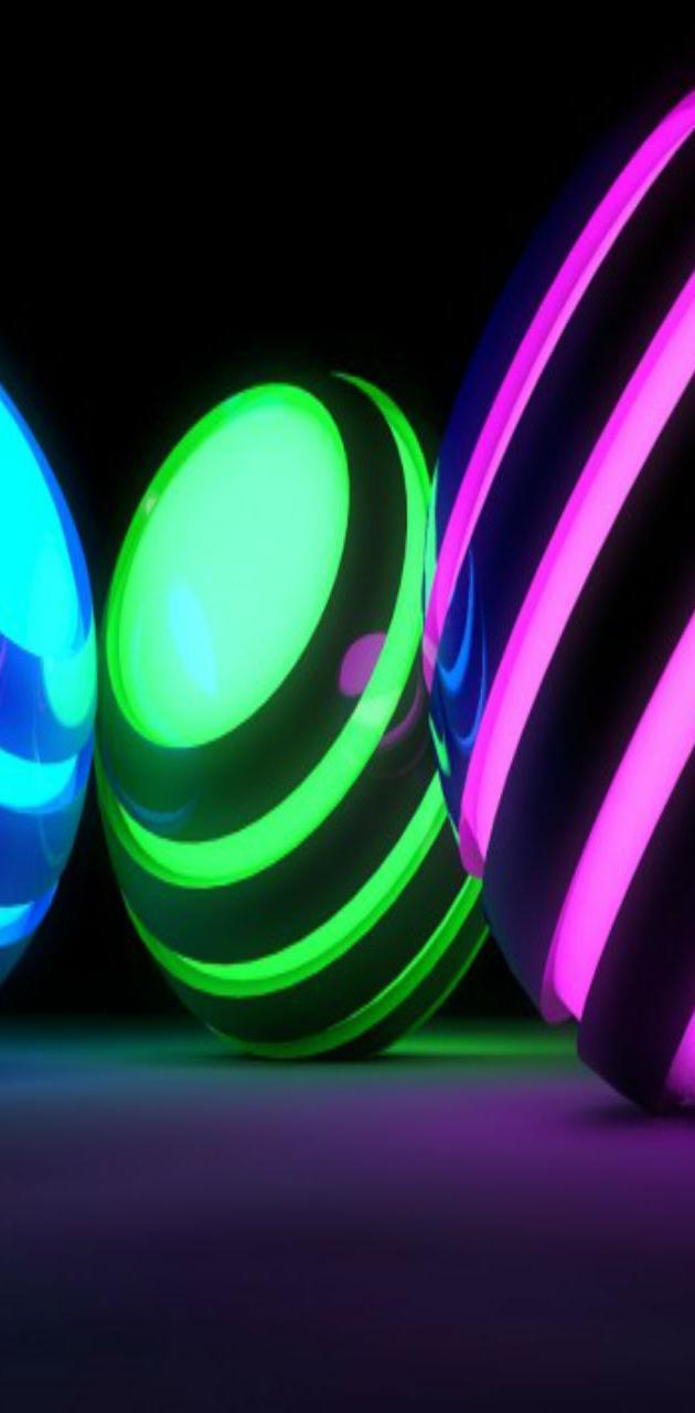 Colorful Spheres HD