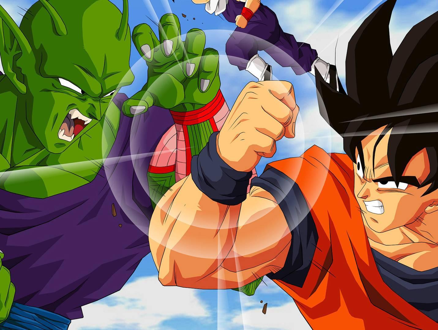 Goku Vs Picolo