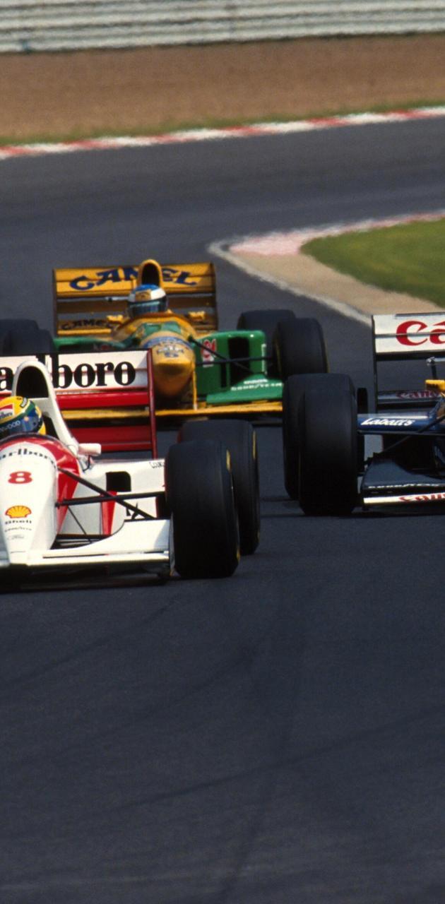Senna Schumi Prost