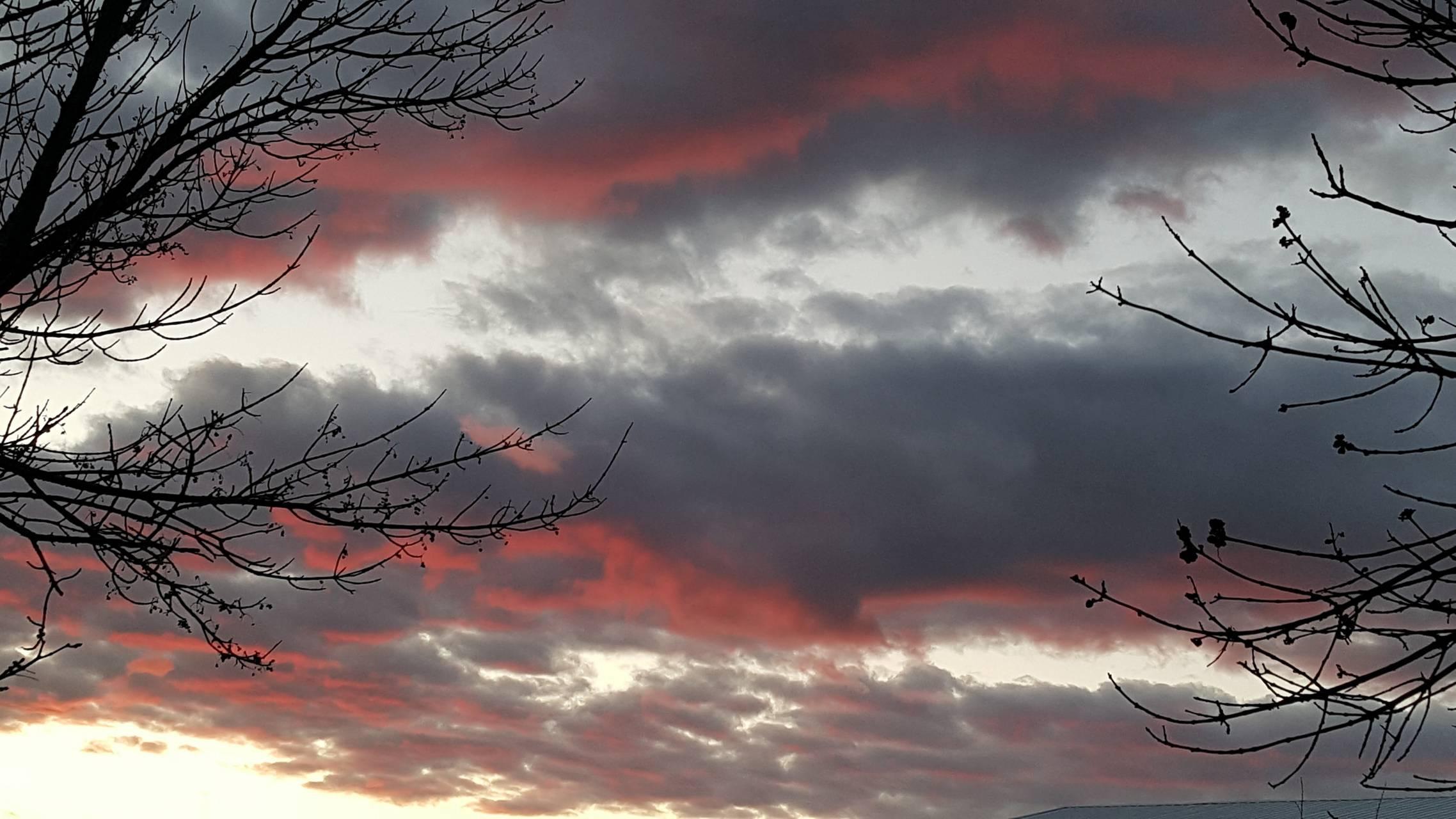 Cool looking sky