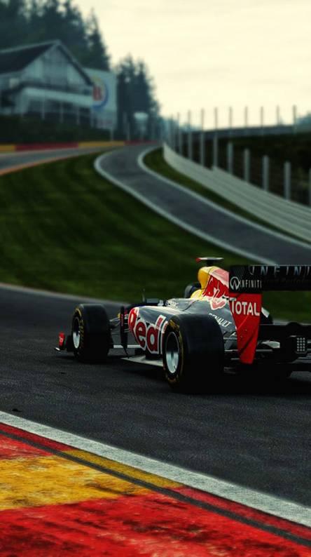 Vettel at Spa