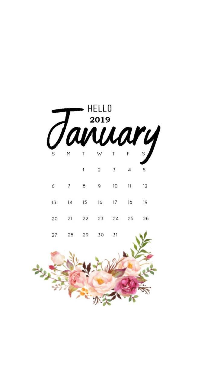 January 19 Calendar