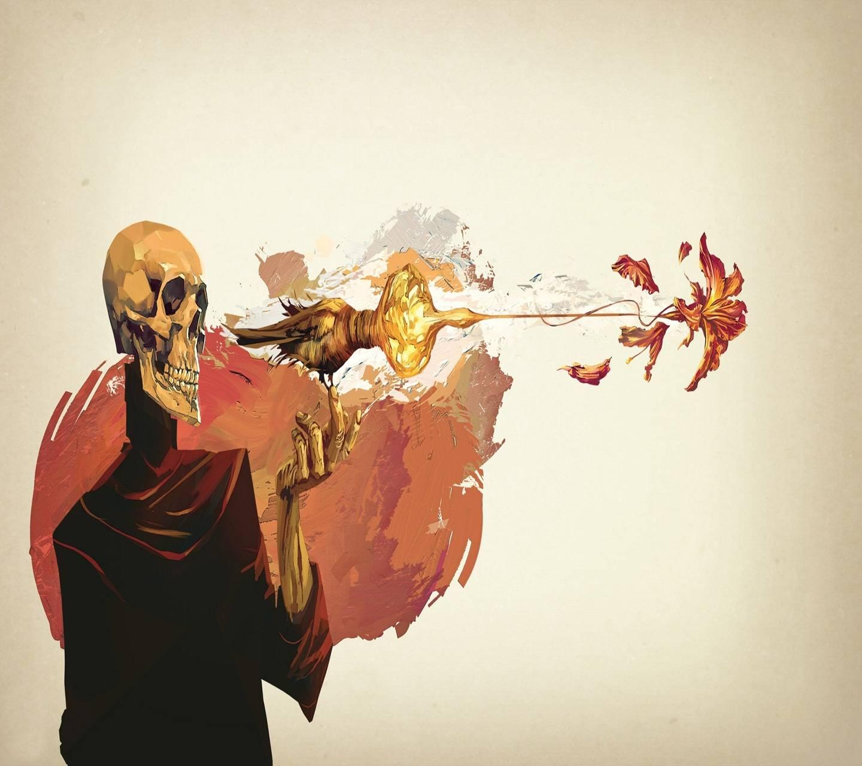 Skull Gun Fire