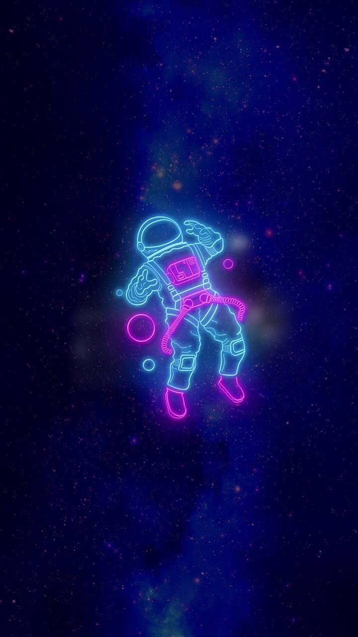 Astronauta Neon