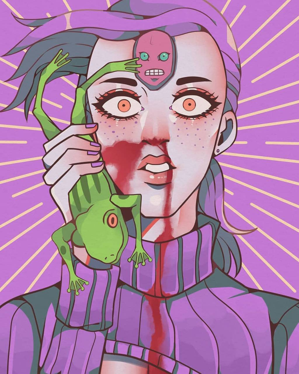 Doppio with a frog Wallpaper by Femboi_Carti - 07 - Free on