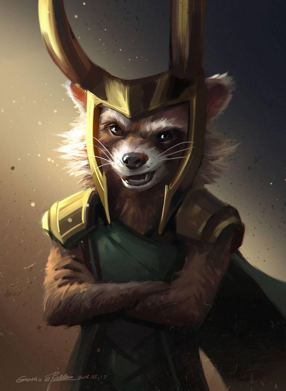 Loki Raccon