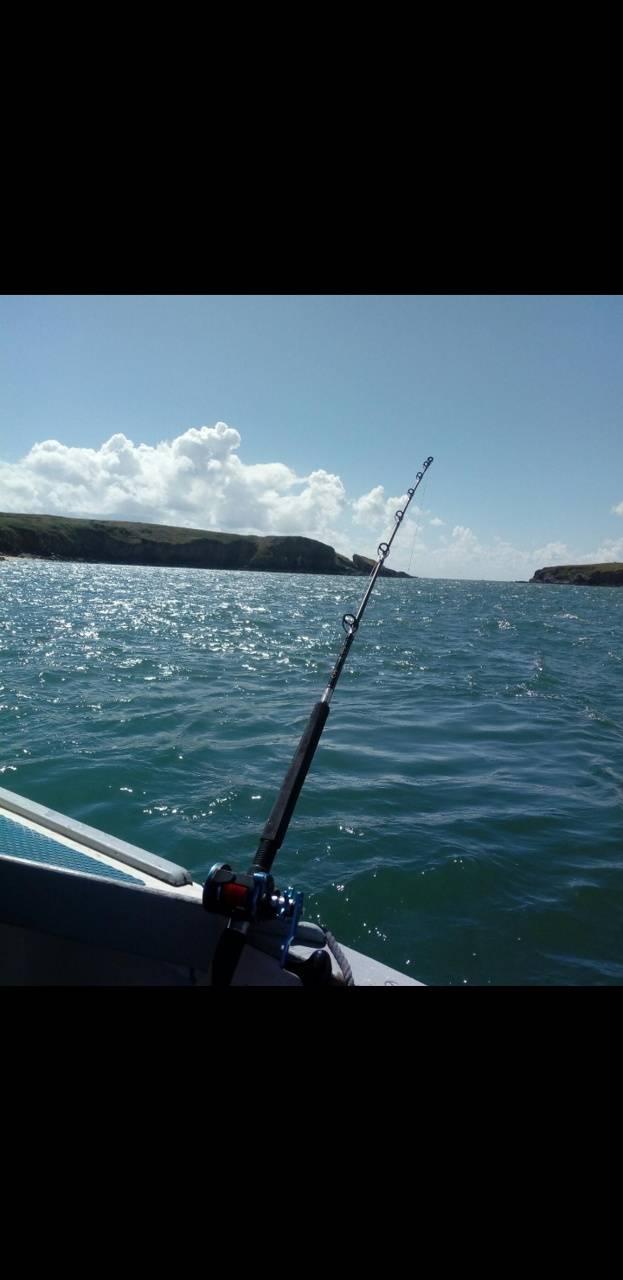 Fishing At The Sea