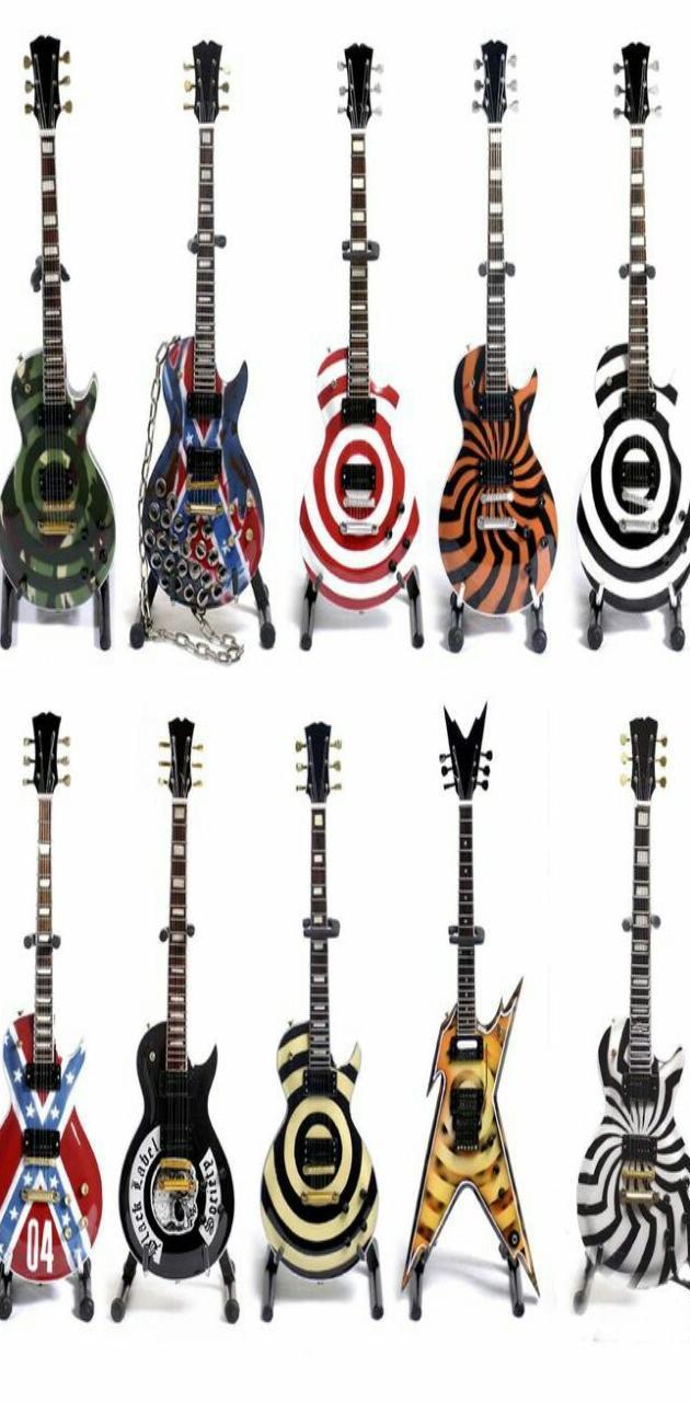 Zakk Wylde Guitars