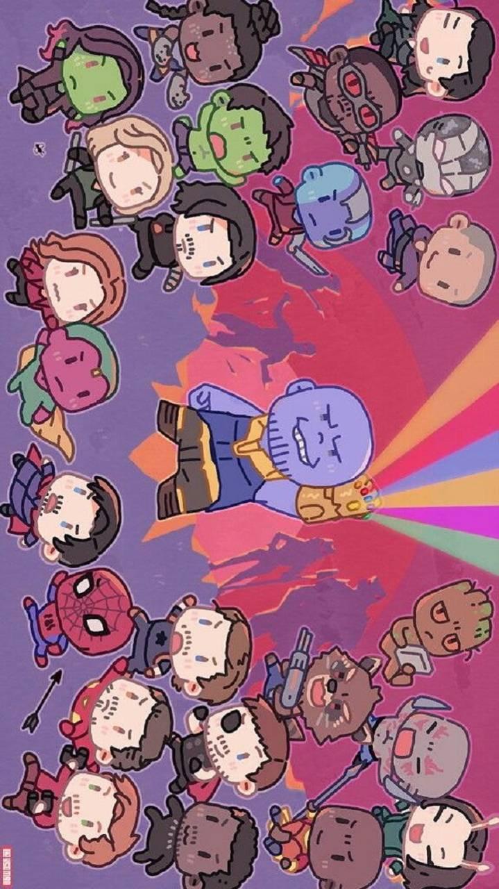 Cute Infinity War