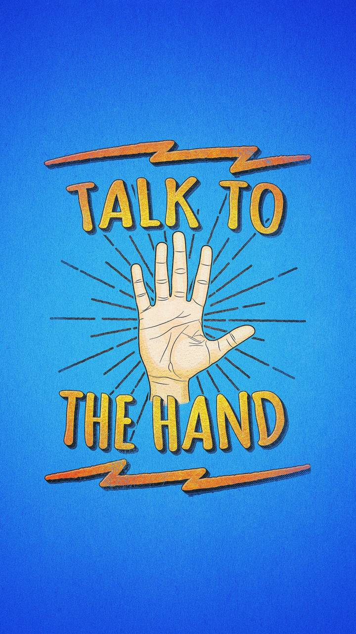Blue Hand Talk