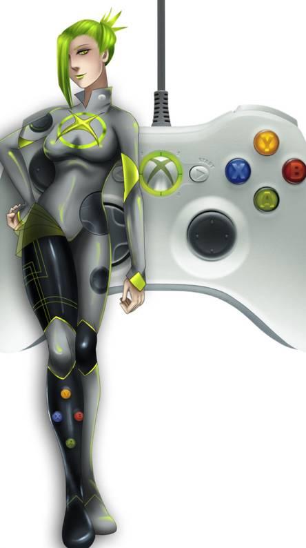 Xbox 360 Girl