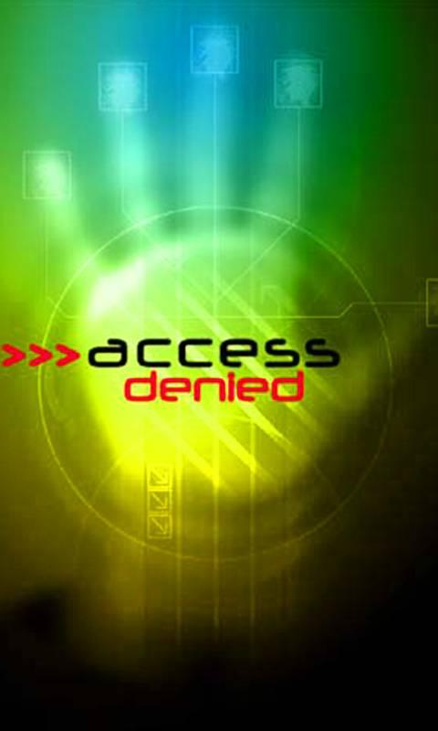 access caution