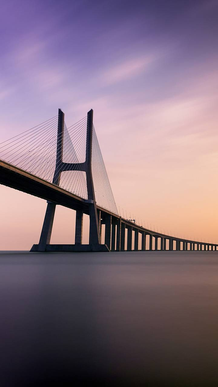 Bridge Sunset 4k