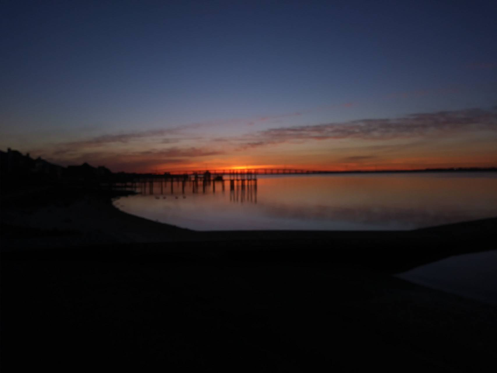 Morning on Bogue