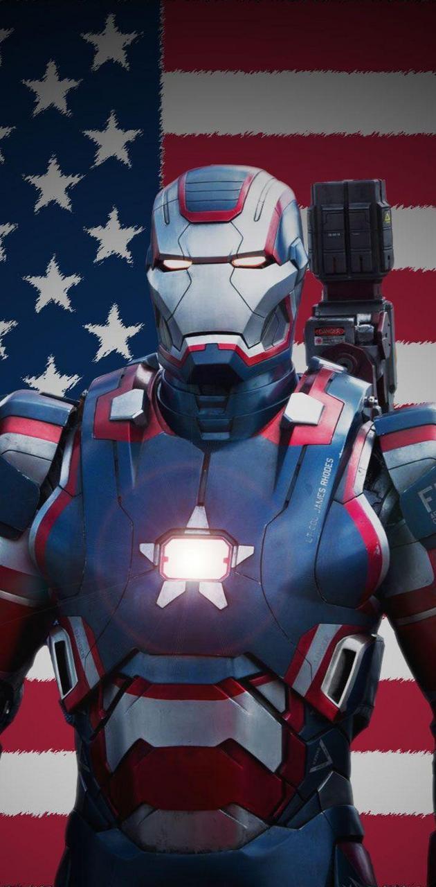Iron Patriot Suit