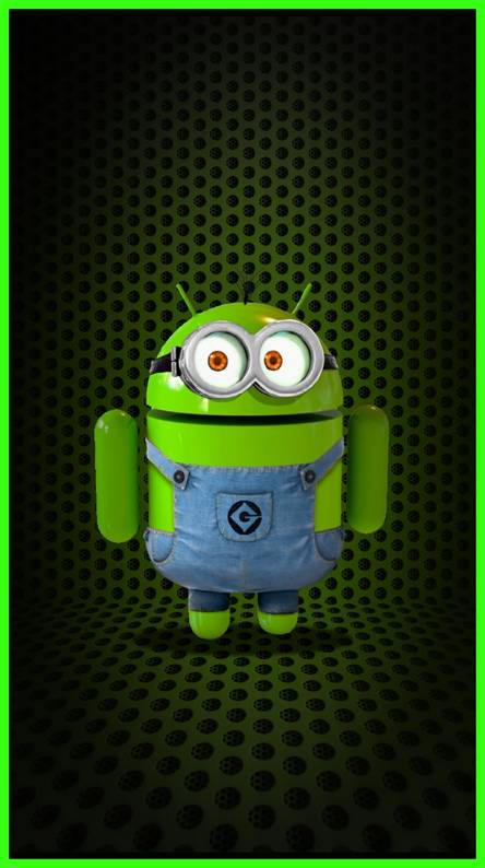 Lime Green Android