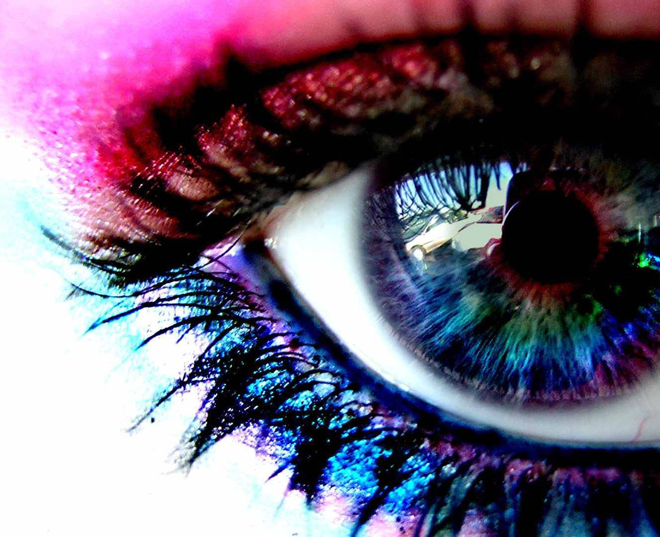 3d Colored Eye