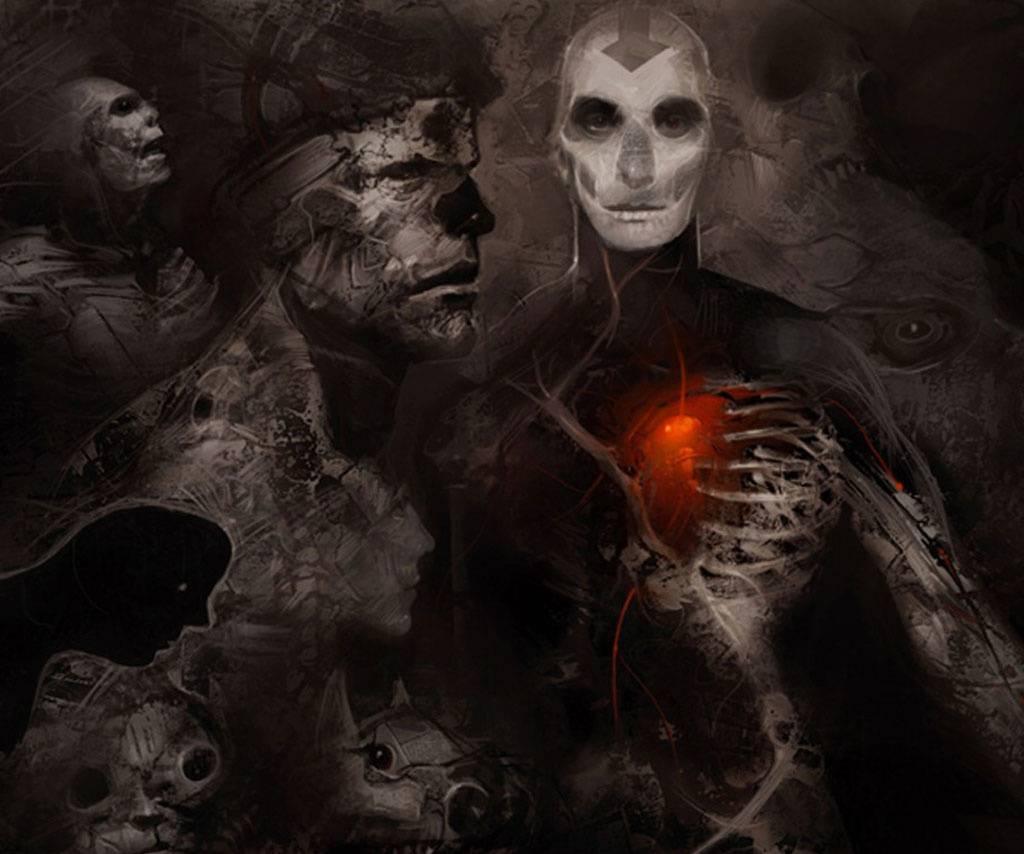 Dark Heart Painting