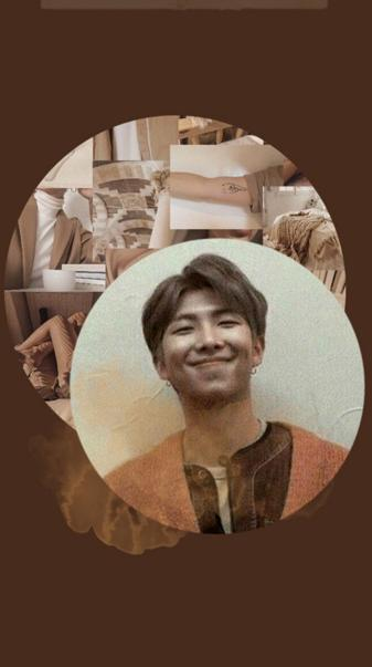 BTS RM Brown