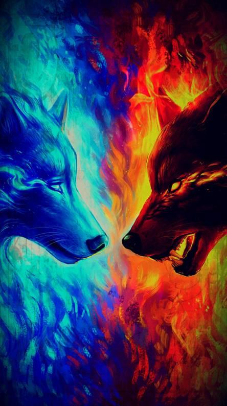water vs fire wolf