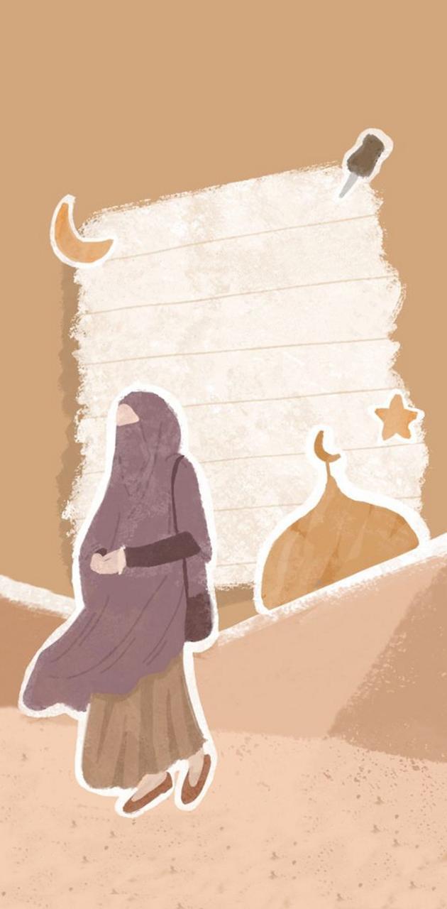 muslim girl anime