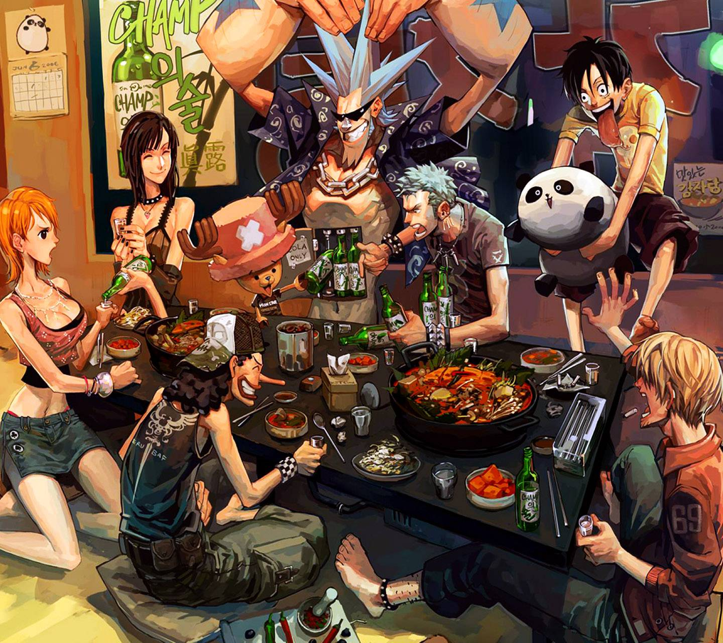 Straw hats party