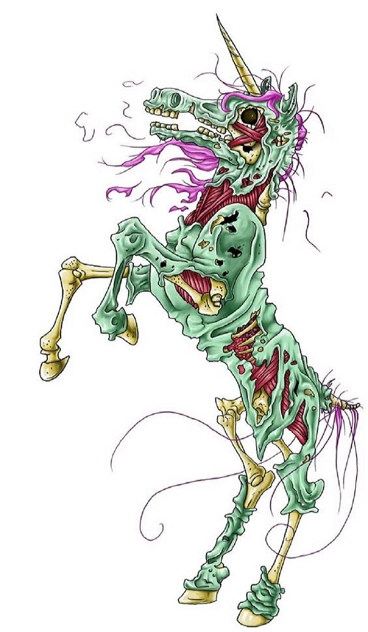 zombied unicorn