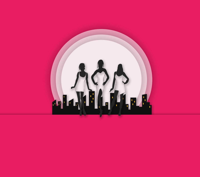 City Girls Pink