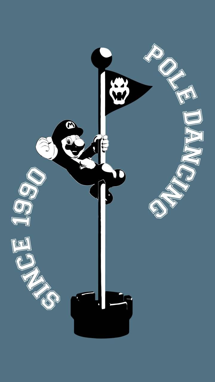 pole dancing mario