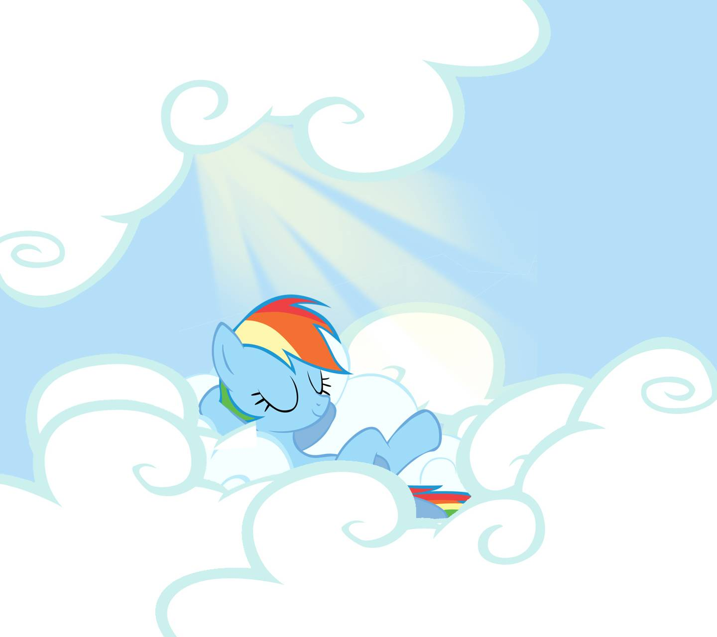 Rainbow Dash Chills