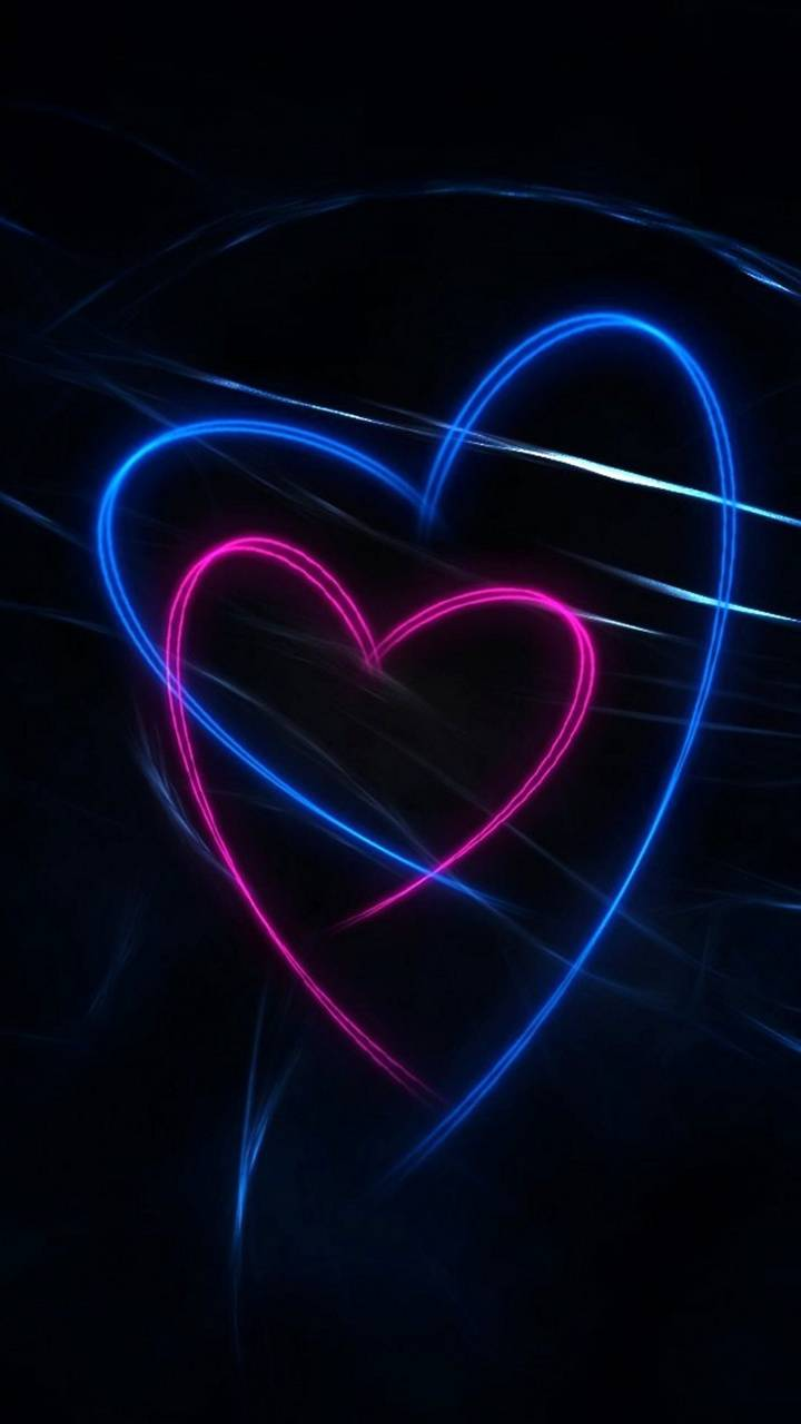 Red  Blue Heart