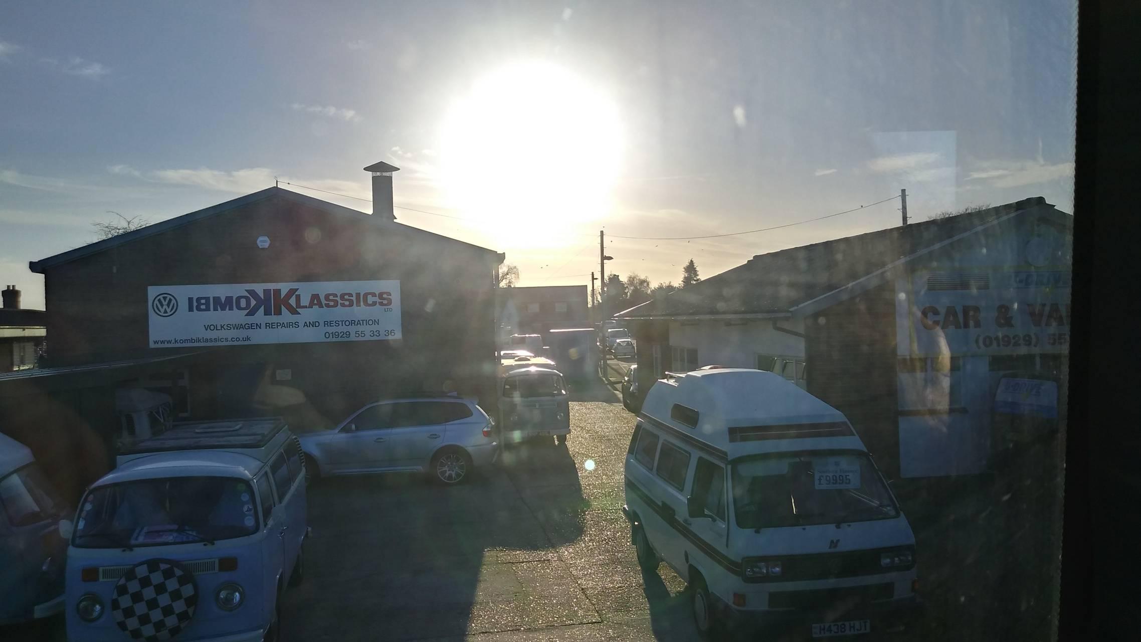 Sun and Cars