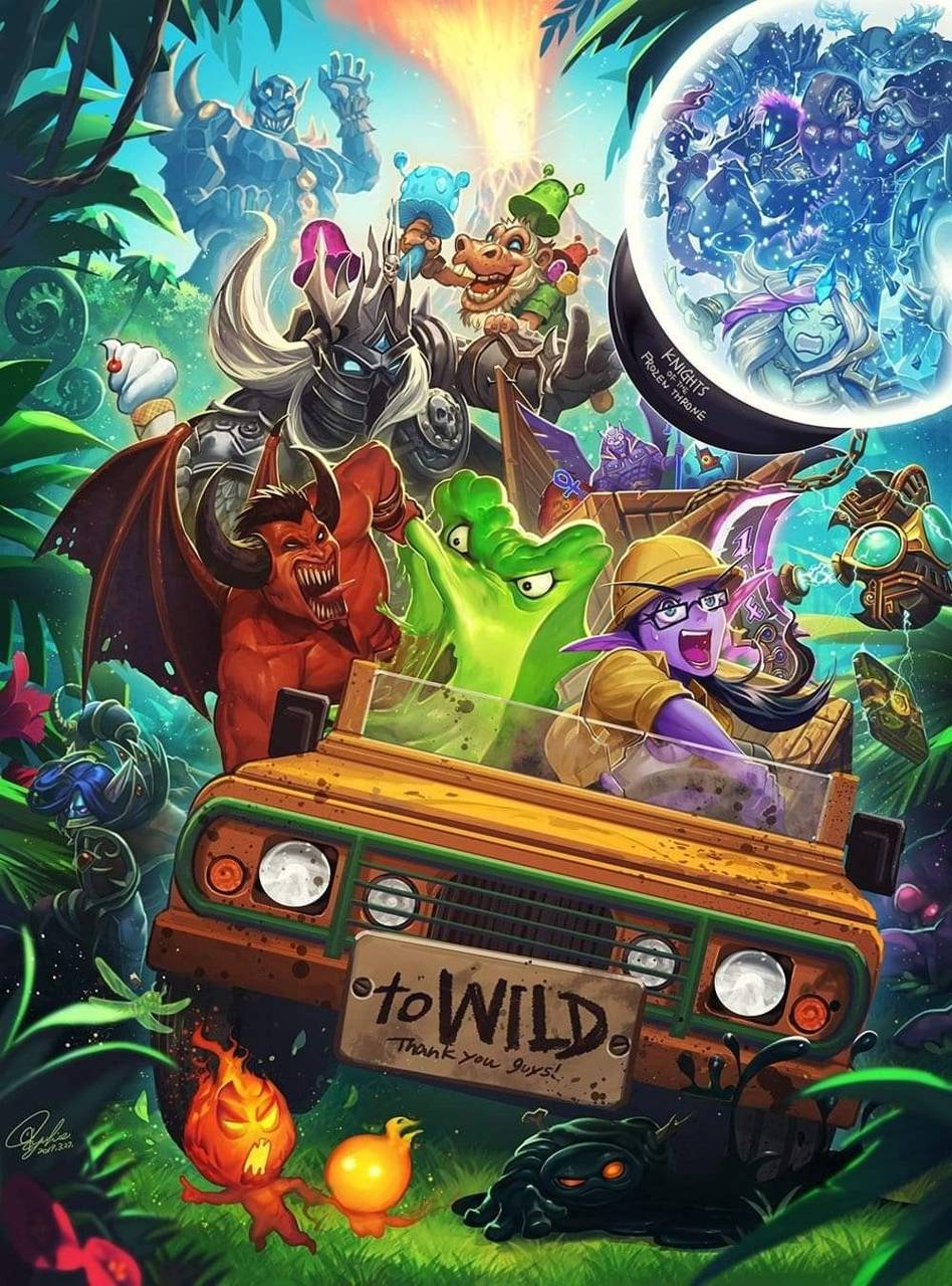 Hearthstone wallpaper by miml_23 - 4f