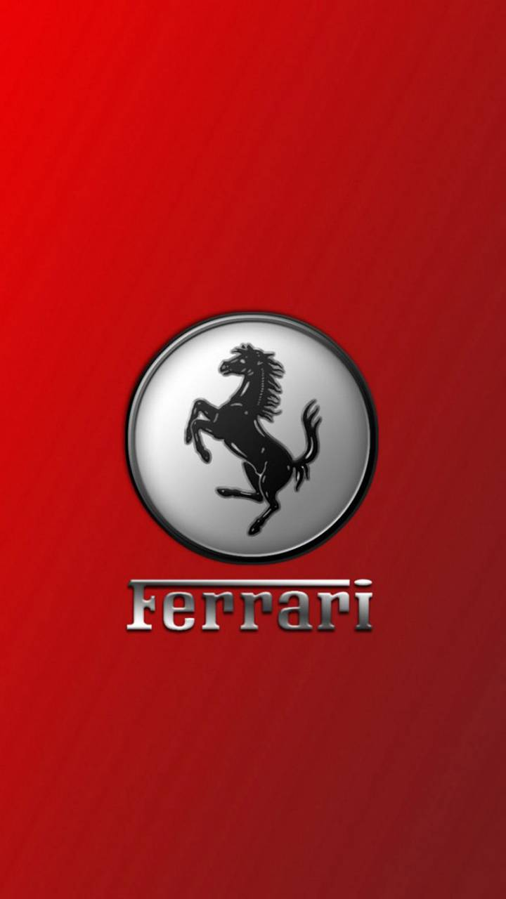 red ferrari logo