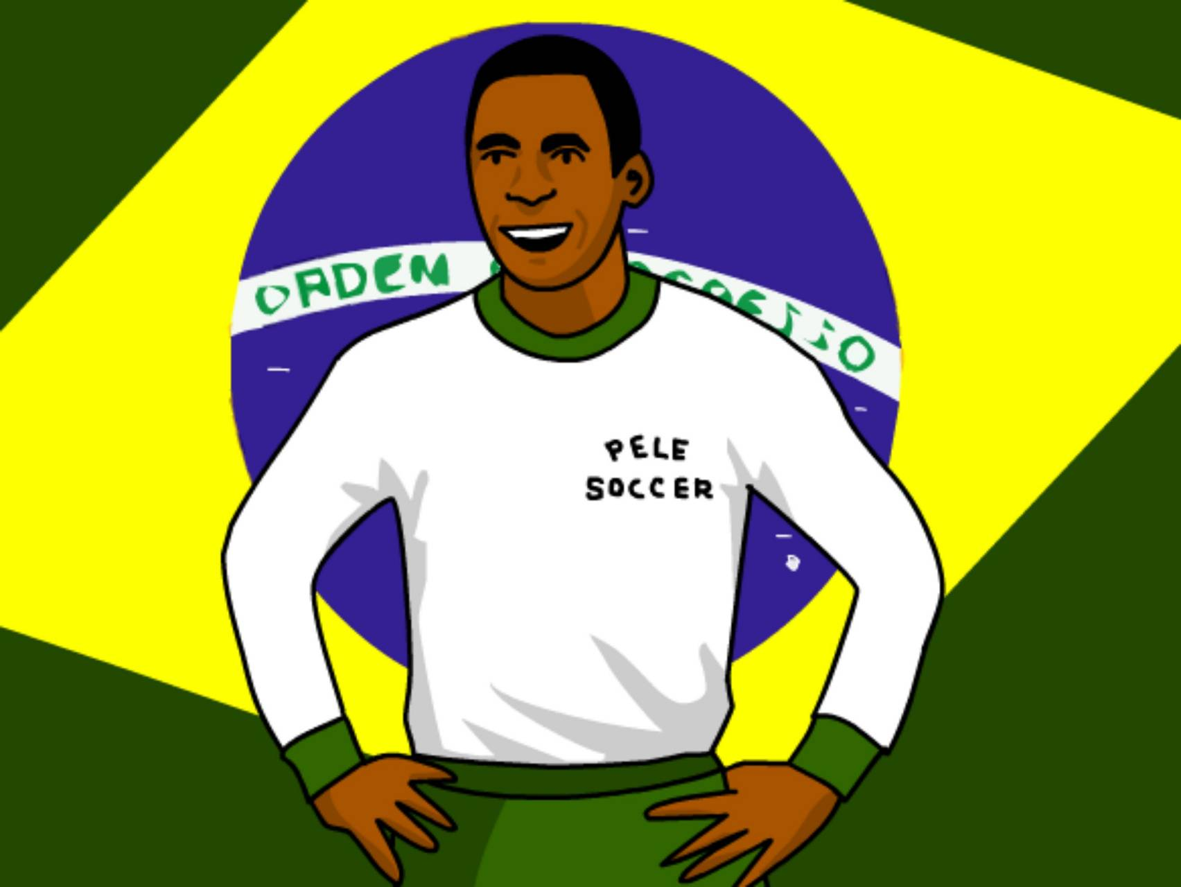 Pele Mean Soccer
