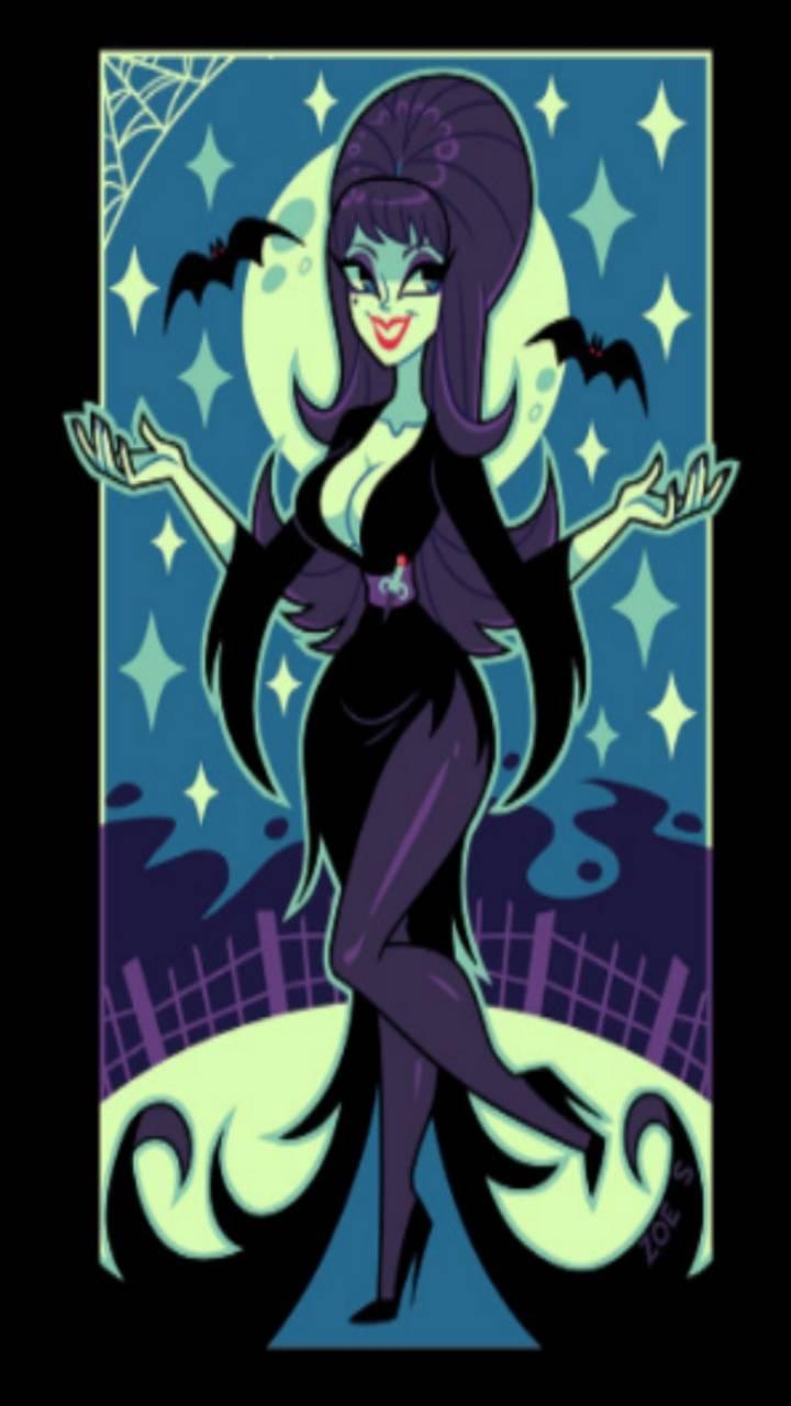 Elvira Mistress Dark Wallpaper By Nhufflepuff151 D8 Free On Zedge
