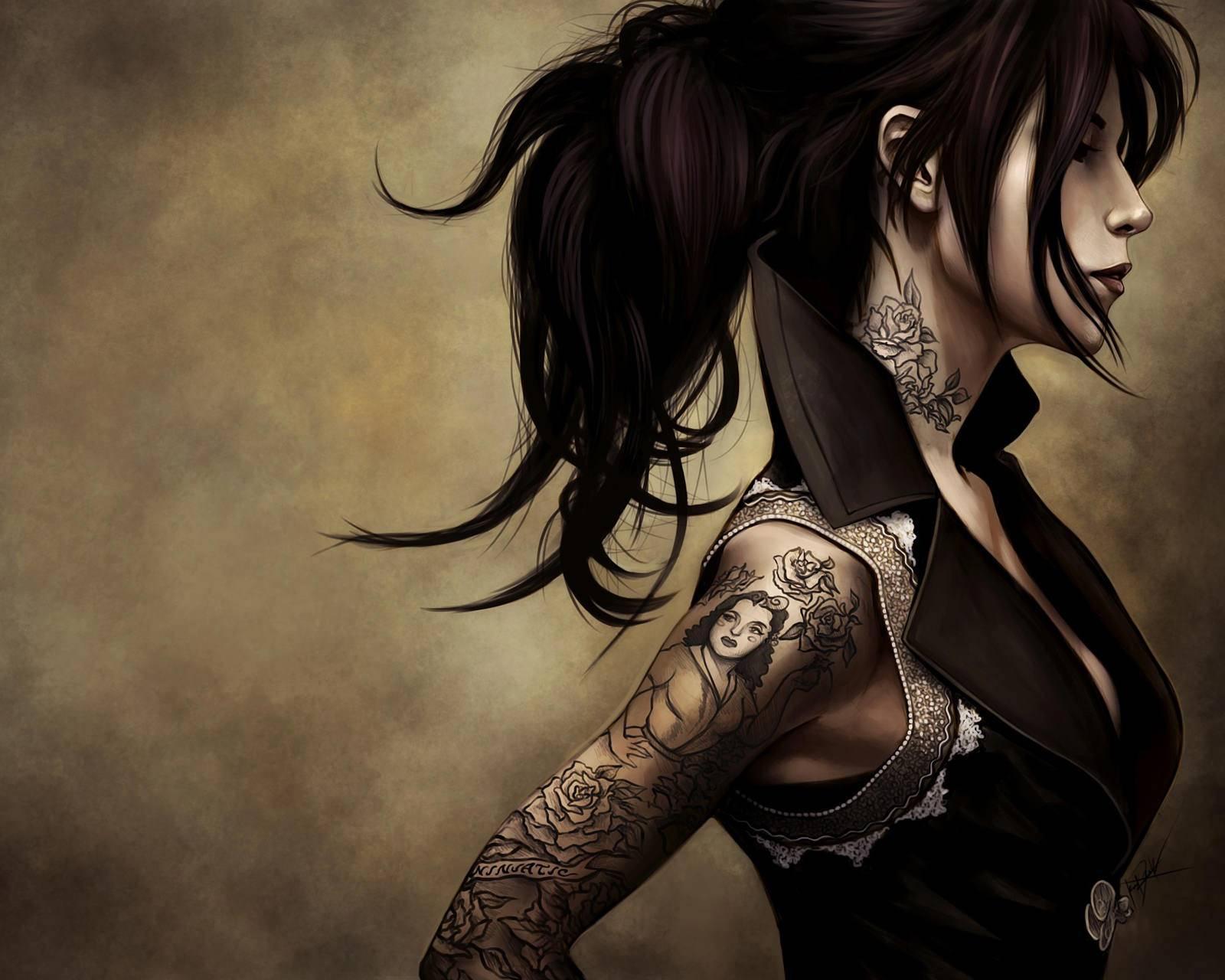 Tatoo Girl Hd