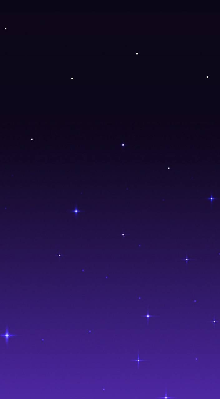Pixel Night Sky