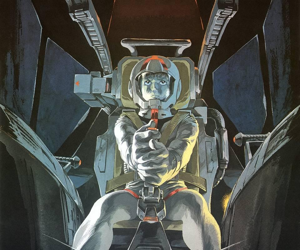 Amuro In Cockpit