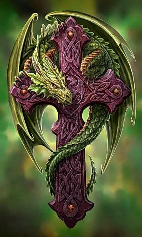 Cross And Dragon