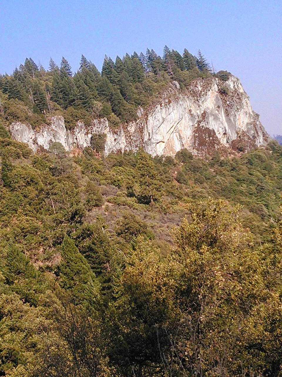 Rock mountain
