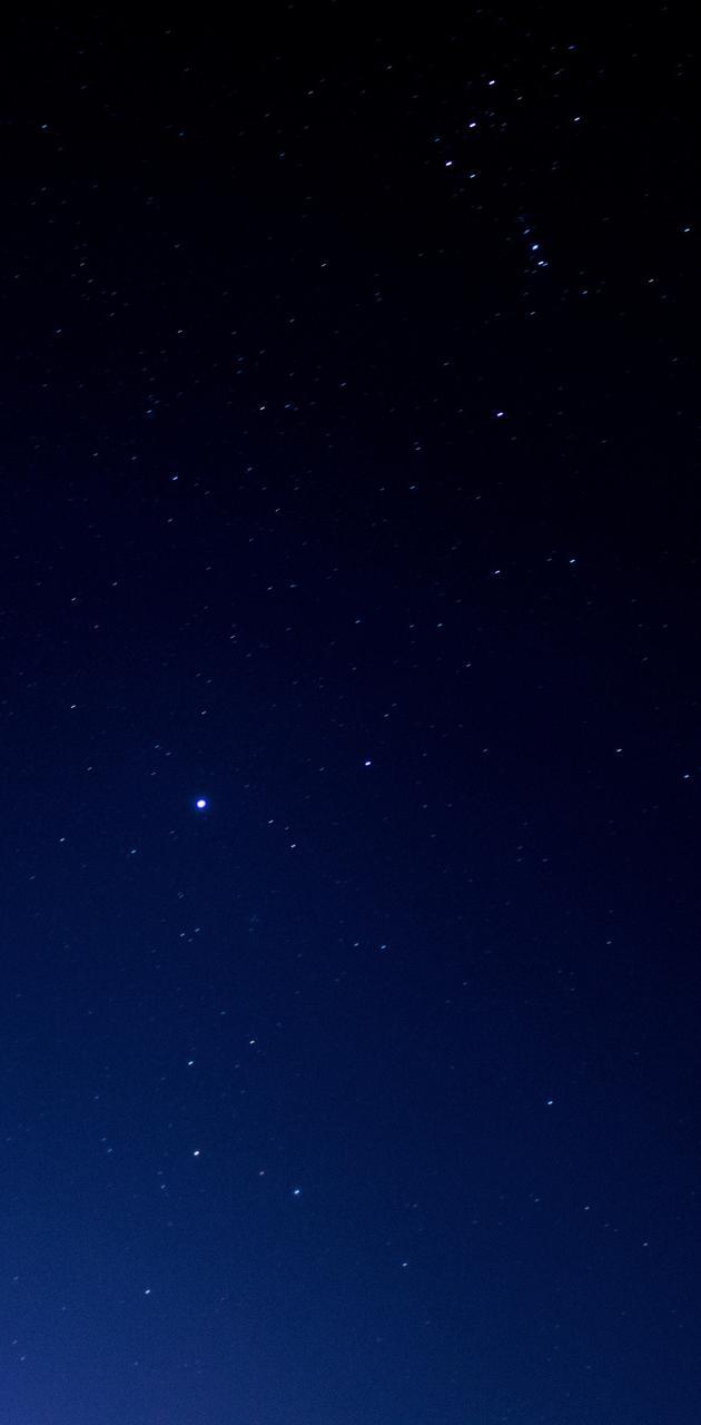 Night sky Pokhara