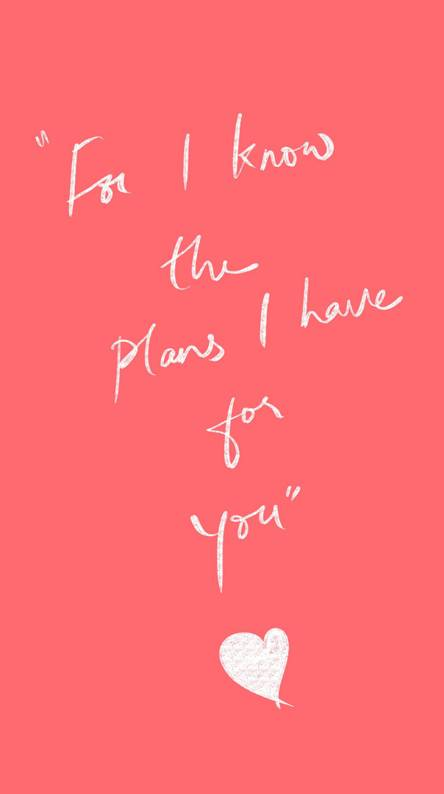 I know the plans