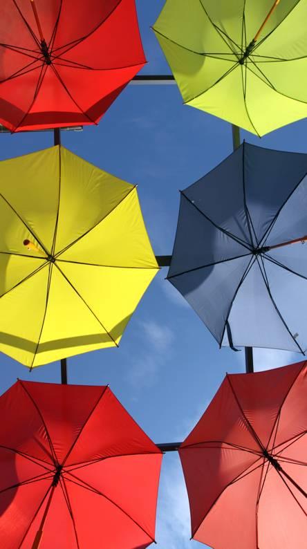 Blue Umbrella Wallpapers