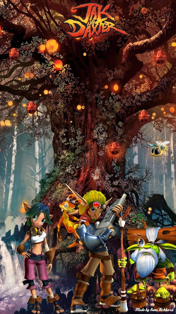 Jak And Daxter Wallpaper By Xxdevilsamixx 15 Free On Zedge